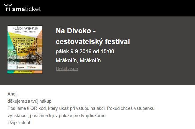 Na Divoko - cestovatelský festival