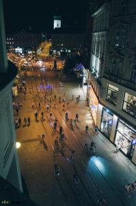 Noční cyklojízda Brno