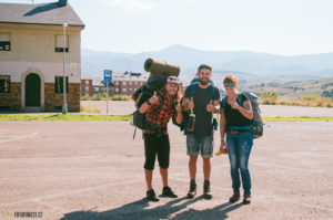 Začátek Svatojakubské pouti v Ponferrada