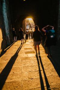 Příchod do Santiaga de Compostela