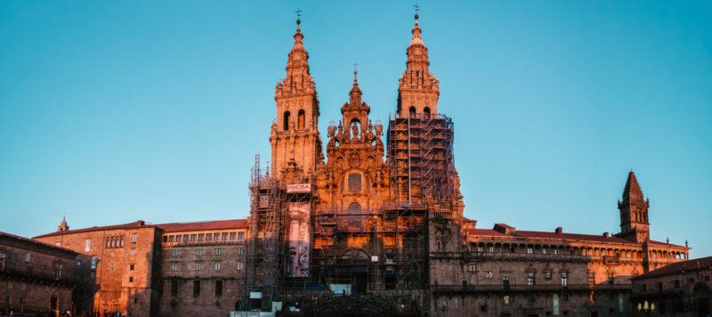 Katedrála sv. Jakuba v Santiago de Compostela