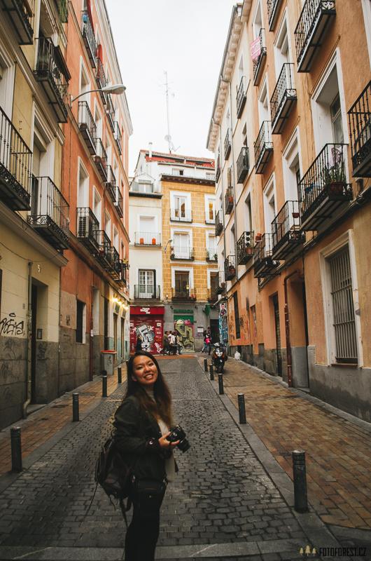 Prohlídka Madridu, Španělsko