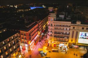 Mrakodrapy v Madridu