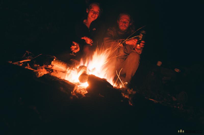 Oheň u Drátovny