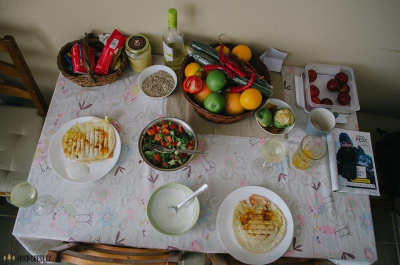 Salát na oběd