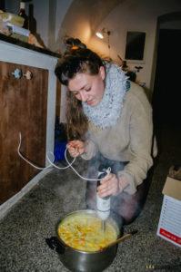 Tereza vaří dýňový krém