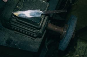 Výroba nože z pilníku Ajax